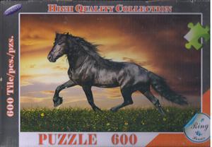 پازل 600 تکه مارک رینگ 44*59 (اسب سیاه)