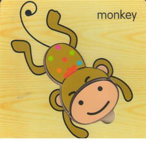 پازل چوبی صاف 15*15 (3 تکه میمون)