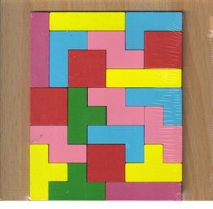 پازل چوبی  اشکال مختلف  15*15 (طرح کاتامینو)