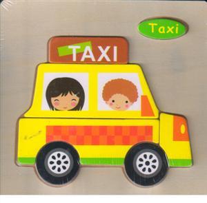 پازل چوبی برجسته 15*15 (7 تکه تاکسی)