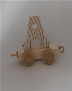 حروف چوبی قطاری 7*5 (A)