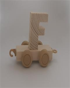 حروف چوبی قطاری 7*5 (F)