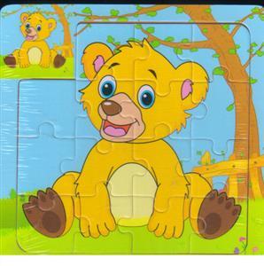 پازل چوبی 15 تکه 15*15 بچه خرس