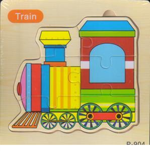 پازل چوبی طرح پازلی 15*15 (6 تکه قطار)
